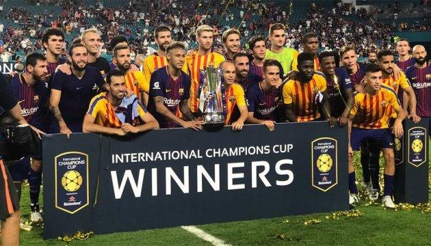 «Барселона» обіграла «Реал» і стала переможцем комерційної Ліги чемпіонів