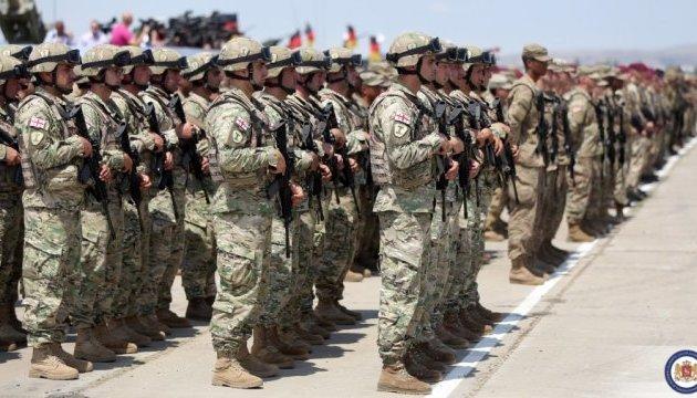 В Грузии стартовали масштабные учения НАТО