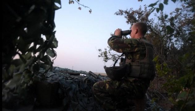 Штаб: бойовики обстріляли опорні пункти сил АТО під Кримським