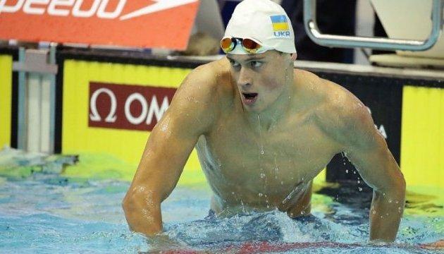 Чемпіонат світу з плавання: Михайло Романчук виборов «срібло» на 1500 м