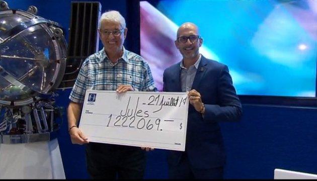 Канадец во второй раз за девять лет выиграл в лотерею $1 миллион