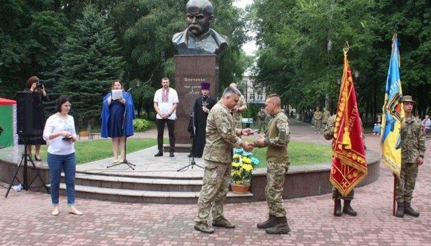 В Авдеевке отметили третью годовщину освобождения от боевиков