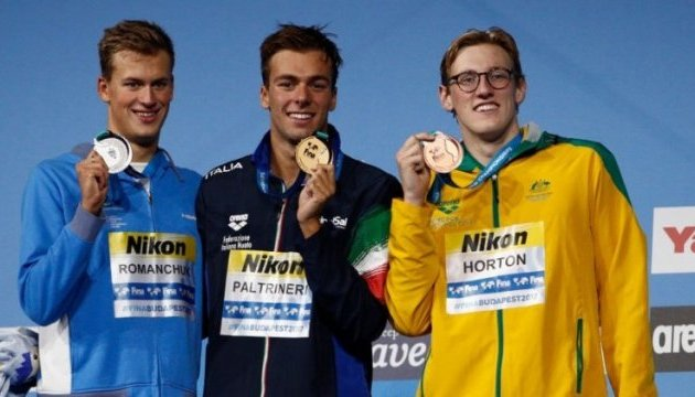 Чемпіонат світу з водних видів спорту: Україна виборола рекордні 9 медалей