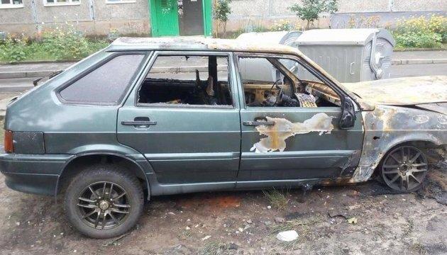 В Харькове журналисту сожгли автомобиль