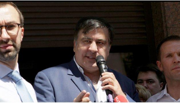 Saakachivili en Ukraine : les premières réactions