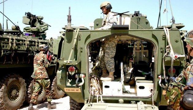 Марш бронетехники США прошел через четыре города Грузии