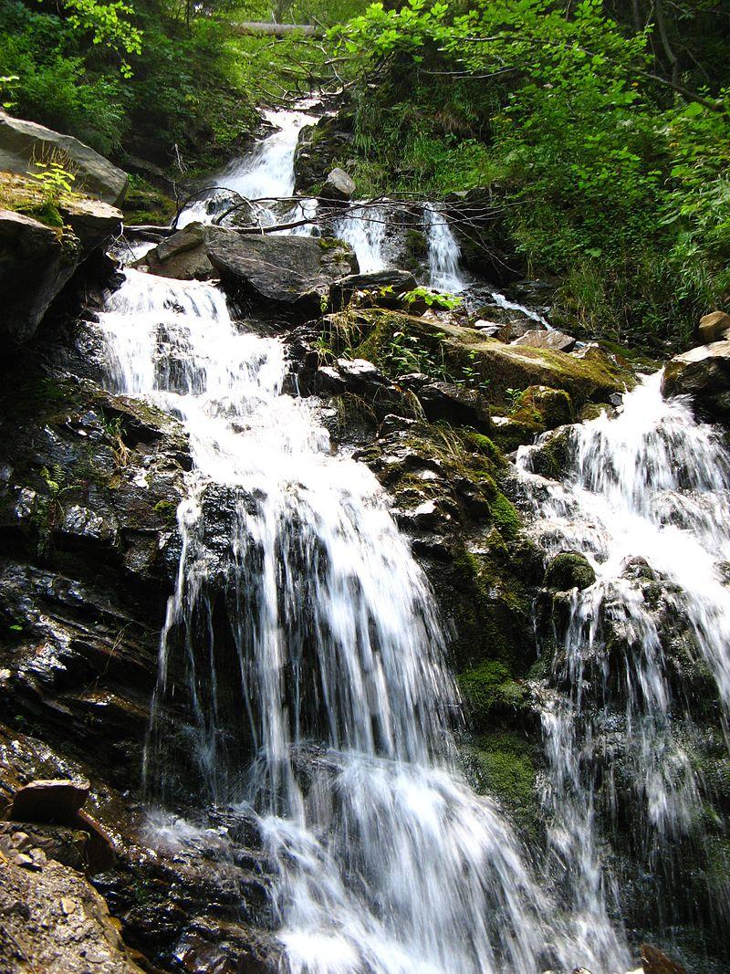 Труфанецький водоспад. Фото: wikipedia