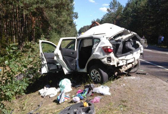 На трасі Київ-Ковель у ДТП загинули 5 людей