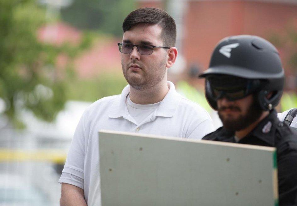 20-річний расист Джеймс Алекс Філдс-молодший -  підозрюваний у скоєні наїзді на натовп демонстрантів в американському місті Шарлотсвілль (штат Вірджинія)