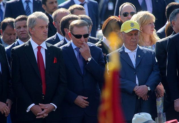 Ющенко, Кравчук, Кучма / Фото: http://periskop.livejournal.com