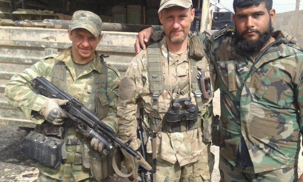 Російські солдати в Сирії // Фото з соцмереж