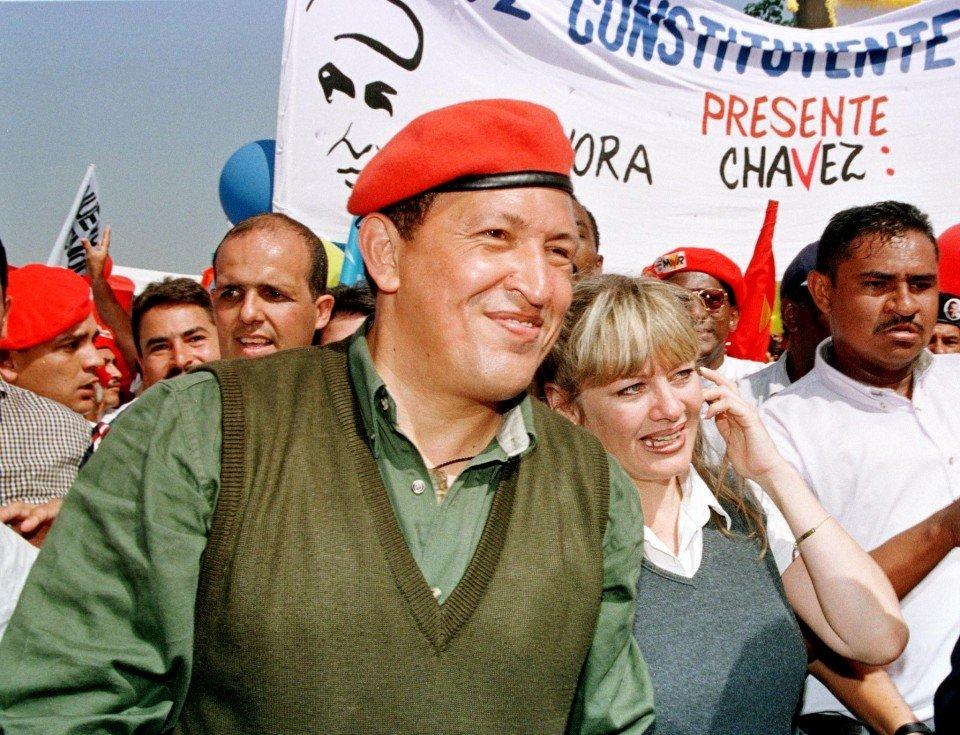 Президент Венесуели Уго Чавес (1998)