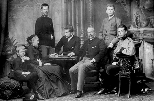 Родина графів Шептицьких / Фото: http://galinfo.com.ua