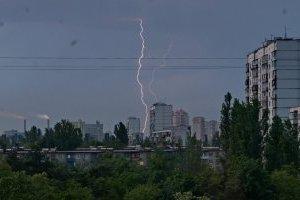 Во второй половине дня Киев накроет гроза