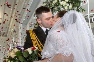 В Киеве за полгода поженились более 10 тысяч пар