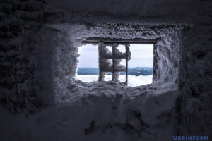 У Карпатах вже сніг та -6°