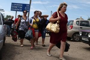 L'Ukraine compte presque 1,5 million de déplacés internes