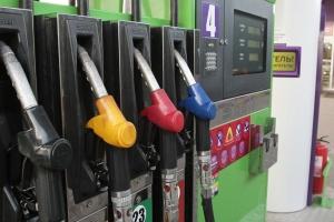 На АЗС Киевщины бензин А-95 продают по 26,69-31,59 гривни
