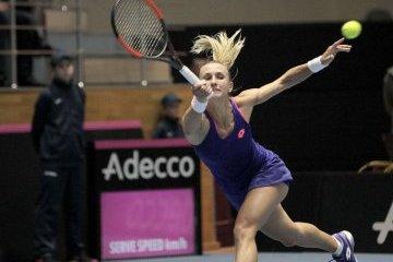 Lesya Tsurenko avanza a semifinales del torneo en Hobart
