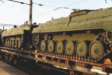 Rusia despliega tropas cerca de la frontera con Ucrania