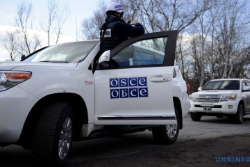 OSCE SMM: Fourteen trucks enter occupied Donbas from Russia for one hour
