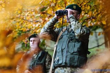 Guardias fronterizos refuerzan el control del cielo durante Zapad 2017
