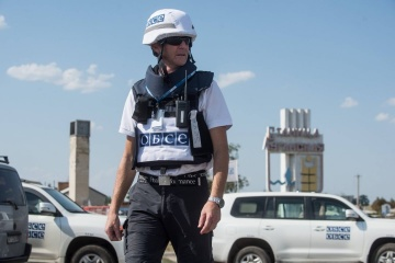 OSCE says militants restricted access in Shcherbak