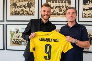 Yarmolenko officially joins Borussia Dortmund