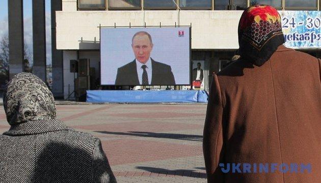 Кремль збільшує фінансування пропагандистських телеканалів
