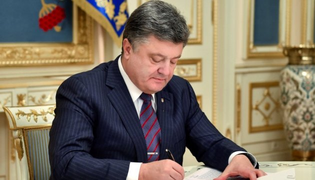 President Poroshenko signs law that specifies a notion of cultural heritage monument