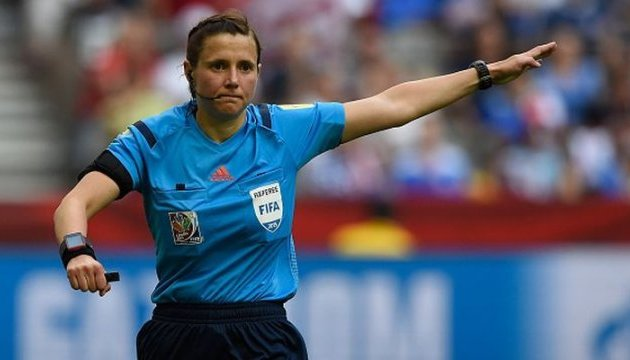 Катерині Монзуль довірили півфінал жіночого Євро-2017 з футболу