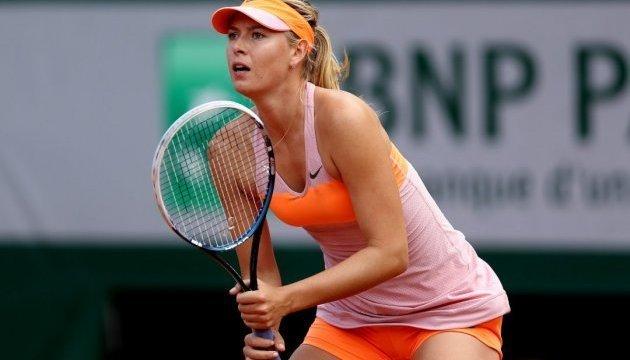 Sharapova to face Tsurenko at Stanford