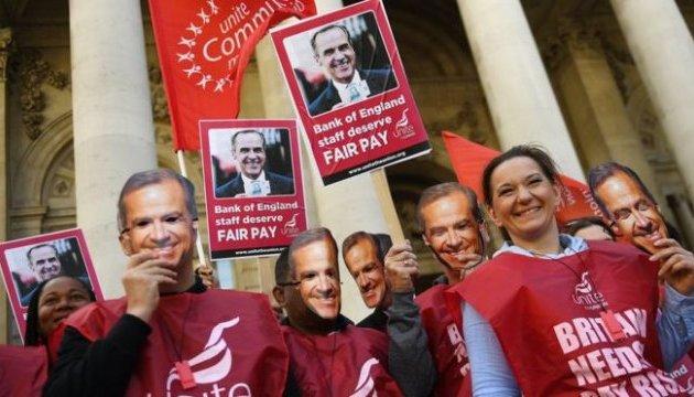 Работники Банка Англии впервые за 50 лет вышли на забастовку
