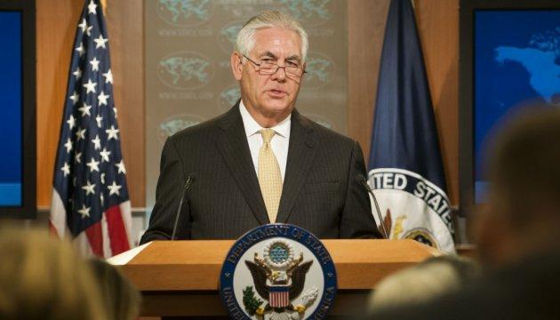 Тиллерсон объяснил, почему Украина - на первом месте в отношениях США и России
