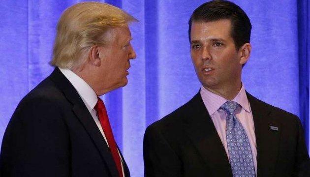 """Син Трампа збрехав про зустріч з """"кремлівською юристкою"""" за порадою батька - ЗМІ"""