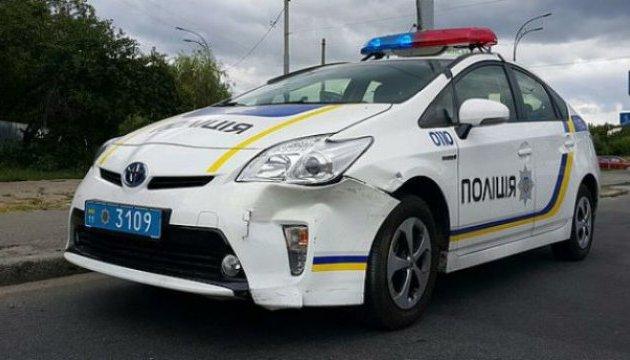 У Києві затримали викрадачів службового авто Нацполіції