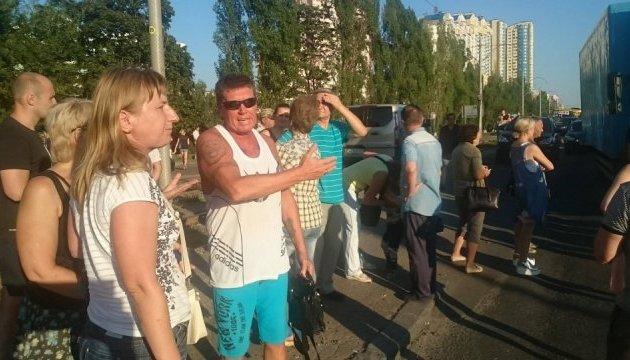 Мешканці довгобудів Войцеховського розблокували Харківське шоссе