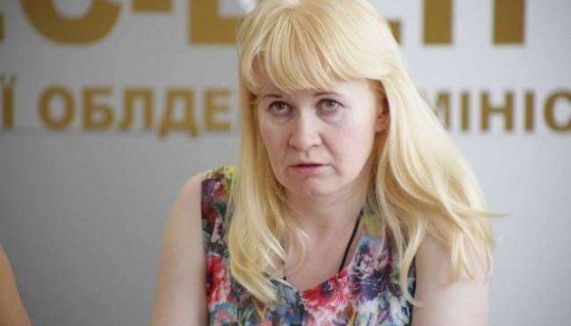 Освобожденная из плена боевиков Сурженко прибыла в Киев на медобследование