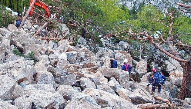 Three Ukrainians injured in North Ossetia rock fall