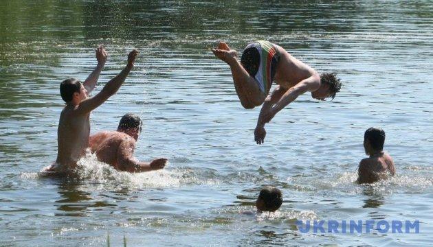В Украине с начала июля на водоемах погибли более 70 человек
