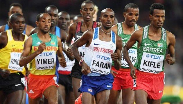 ЧМ по легкой атлетике: Мо Фара - первый чемпион