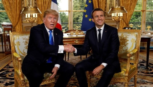 Trump, Macron discuss situation in Ukraine - White House