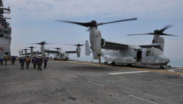 Конвертоплан морської піхоти США розбився біля узбережжя Австралії