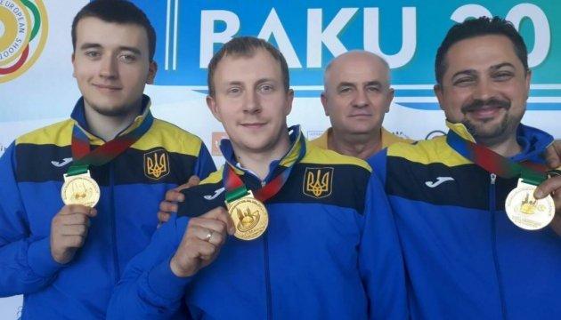 Україна - перша на ЧЄ з кульової стрільби у Баку