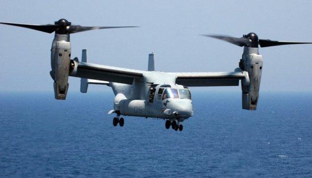 США прекратили поиски морпехов, пропавших во время крушения конвертоплана