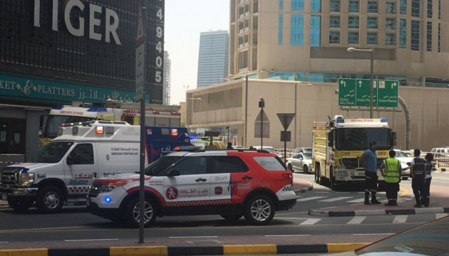 В Дубае горел небоскреб Tiger Tower – уже второй за неделю