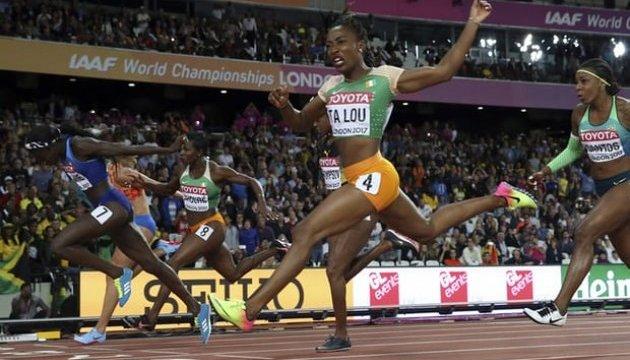 ЧС з легкої атлетики: Торі Боуї перемогла на стометрівці