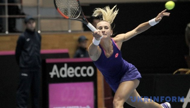 Tsurenko moves to semifinals of tennis tournament in Hobart