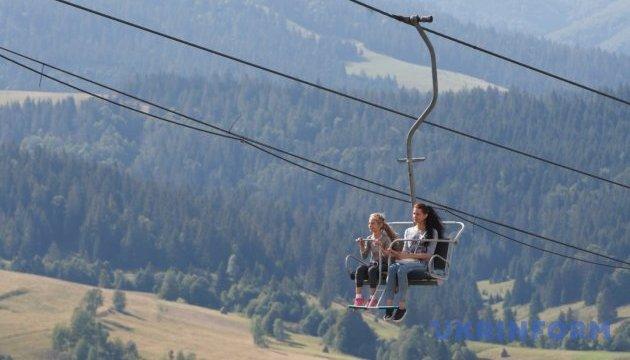 Закарпатье заработало на туристах на треть больше, чем в прошлом году
