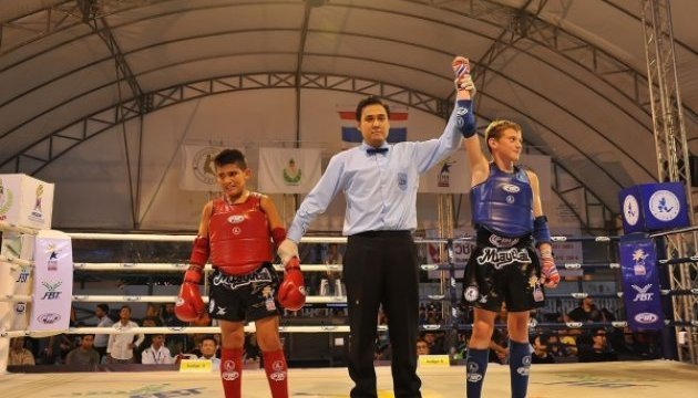 Ukrainians already win three medals at Muaythai Championships in Thailand